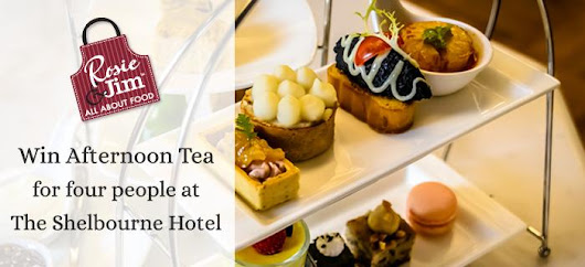 WIN Afternoon Tea for four at The Shelbourne Hotel on our Facebook page! | Rosie & Jim - Irish Produced Chicken
