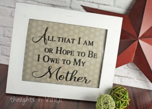 Mothers Day Craft Ideas Thoughts In Vinyl