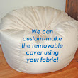 COM - Order Bean Bags Made from Your Fabric!