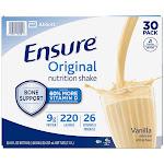 Ensure Original Nutrition Shake 8 fl. oz., 30-Pack, Vanilla
