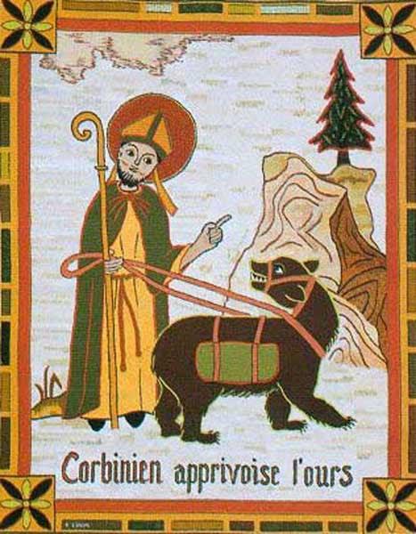 img ST, CORBINIAN, Bishop of Freising