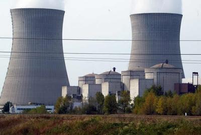centrale électrique atomique