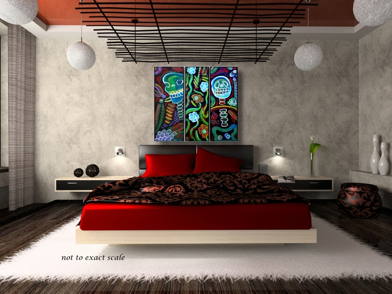 sofa art | Laura Barbosa's Heart of Art Blog