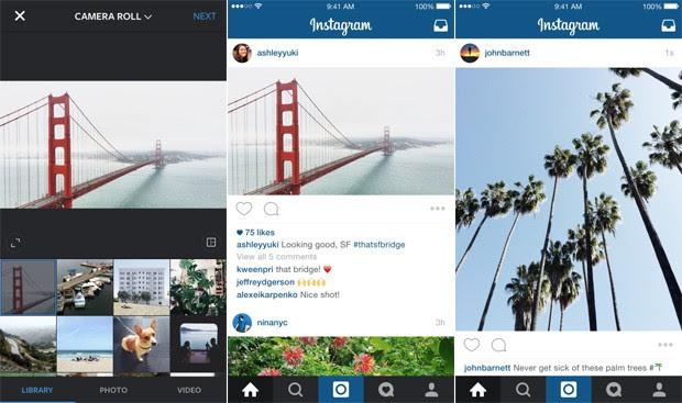 Instagram deixa formato quadradinho de lado e agora permite postar fotos e vídeos na horizontal e vertical (Foto: Divulgação/Instagram)