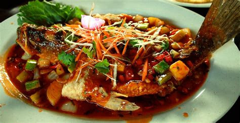 resepi siakap tiga rasa ala thai resepi bonda