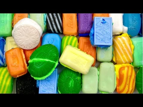 Best Crushing of Soap Boxes with Colored Foam.