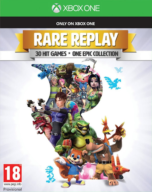 Rare Replay is on the Top