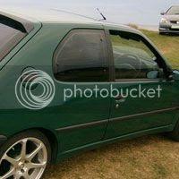 nordic green peugeot 306