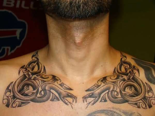 127 Best Collar Bone Tattoos Designs That You Could Get In 2019
