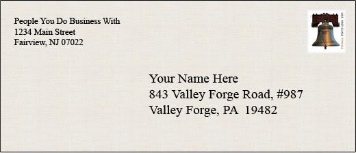 Addressing An Envelope Po Box Letter