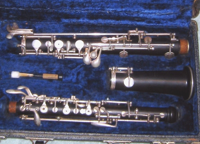 Picture of oboe - Linton wood oboe - restored!