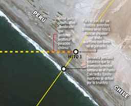 mapa punto concordia hito 1