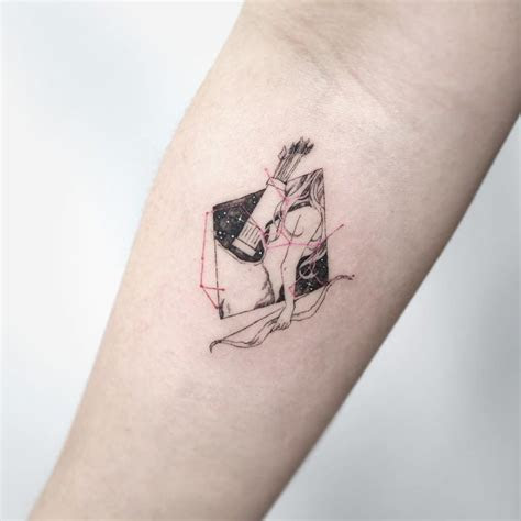 sagittarius tattoo ideas  reflect  fiery side