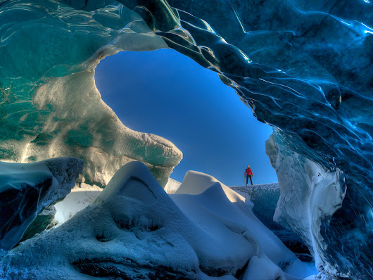 Icelandic Glacier Cave by Looperp55 on YouPic