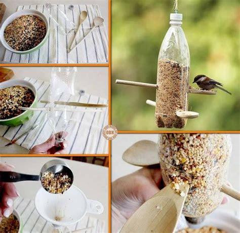 diy plastic bottle bird feeder pictures