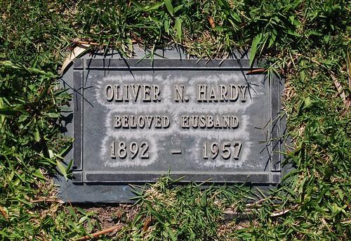 Oliver Hardy Gravesite