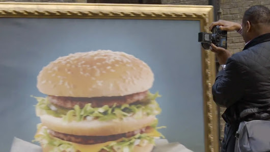 Big Mac Turns Your Brain Into a Drooling Pile of Oblivious Mush in British Ad Stunt