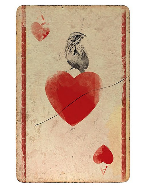 playing cards by CC13 | We Heart It