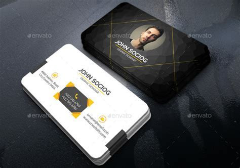 62  Examples of Business Card Templates   Pages, PSD, Word