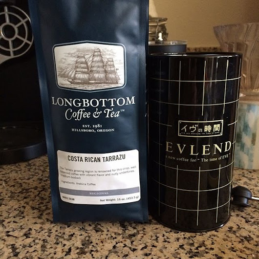 Picture Post: Trying out a new local #coffee roast.