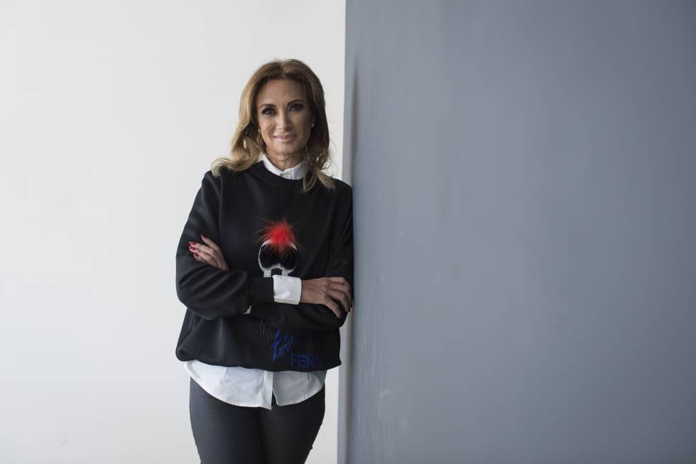 La conductora mexicana, Adela Micha.
