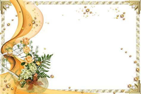 Wedding Card Design Free Download. Frame Wedding