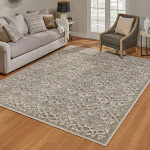"""G.A. Gertmenian and Sons Rio Rug Collection, Potala Ivory, 2'2"""" x 8'"""