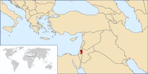 * (en) Palestine Location * (he) מיקום פלסטין