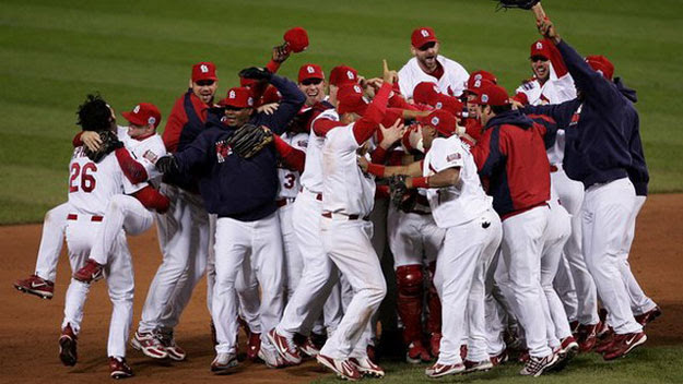 Cardinals celebrate World Series win
