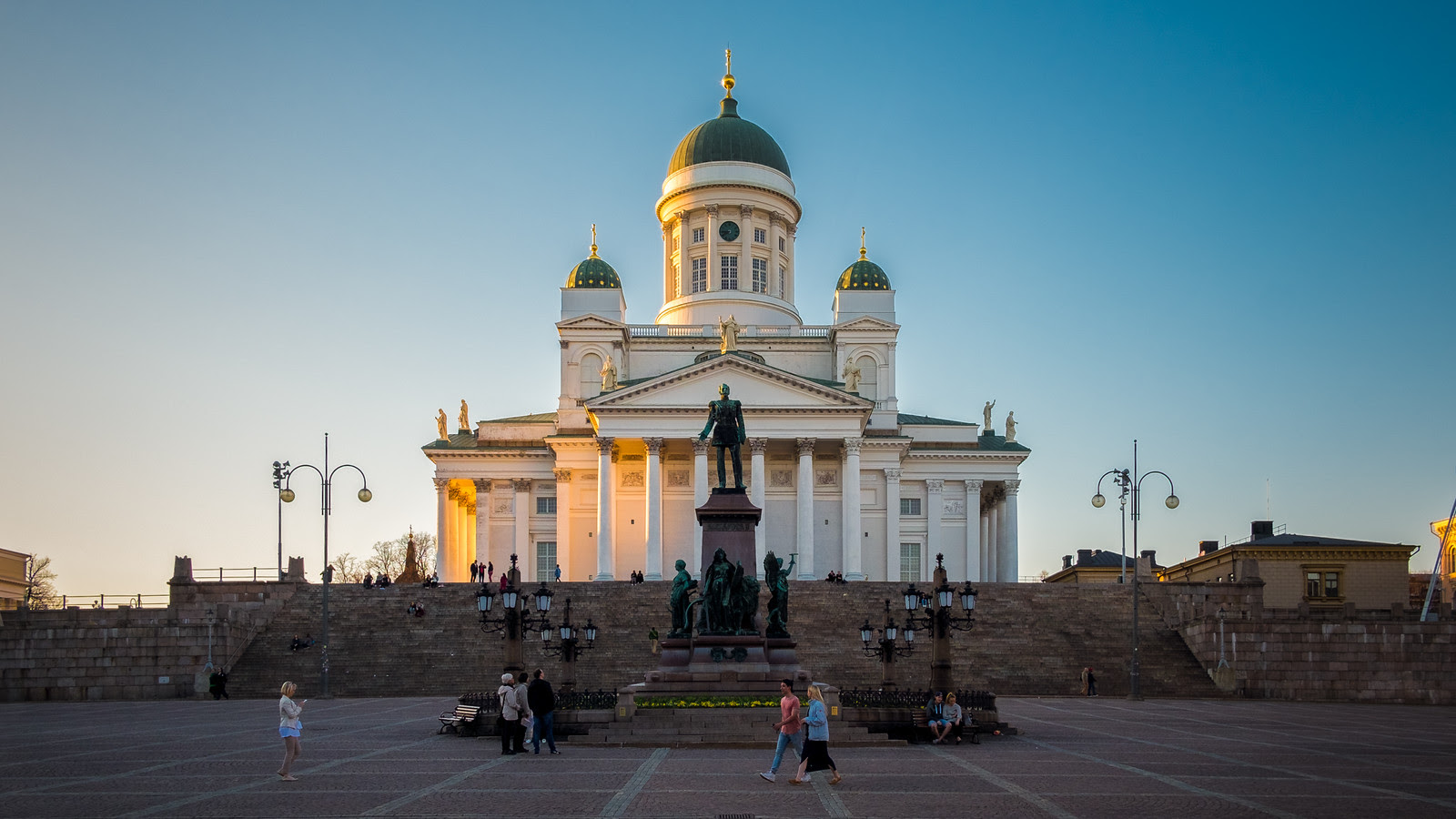 The Cathedral at sunset - Helsinki, FInland - Architecture photography