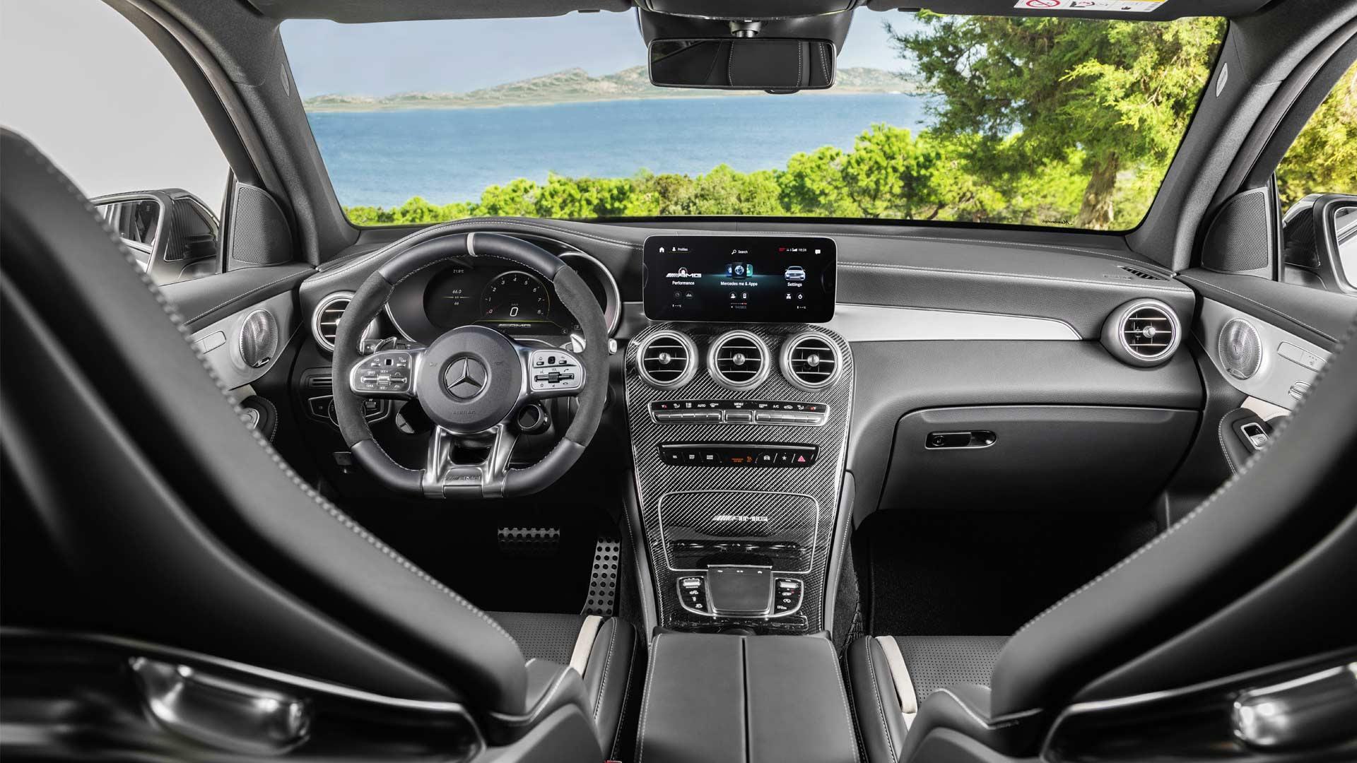 New Mercedes-AMG GLC 63 4Matic+ models debut with fresh ...