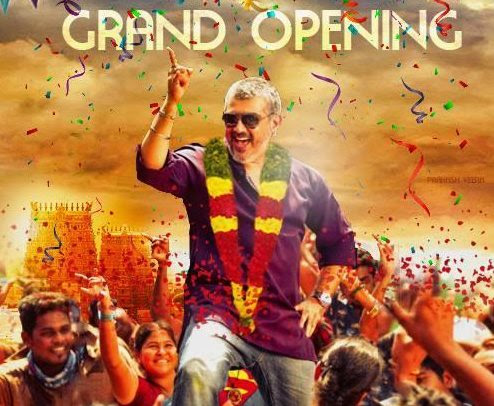 Ajith's 'Vedalam' opening day Box-Office collection