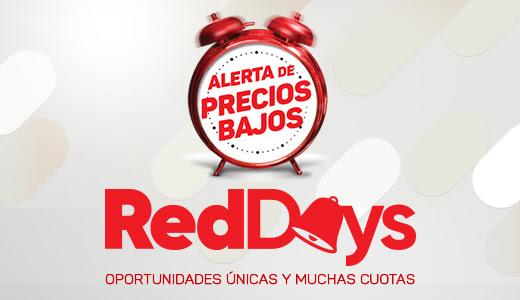 RED DAYS - OPORTUNIDADES ÚNICAS Y MUCHAS CUOTAS