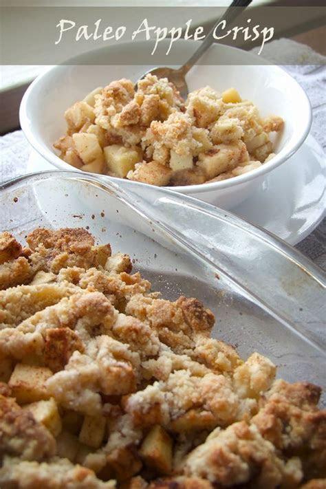 paleo apple crisp recipe paleo apple crisp paleo