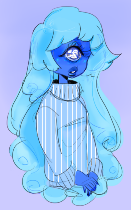 This beautiful ice child,Look at her grin and glow…She'll make a heaty red ruby so thrilled one day