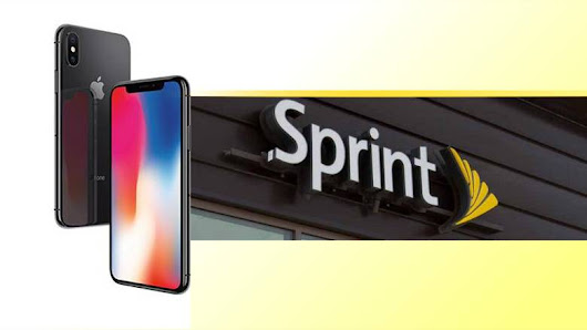 iPhone X for $5 per month with Sprint