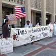 San Mateo County residents protest toxic jail on Earth Day