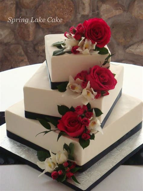 Floral cascade wedding cake   Flickr   Photo Sharing!