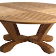"Douglas Nance Cayman 48"" Conversation Table - traditional - outdoor tables - by Atlantic Patio Furniture"