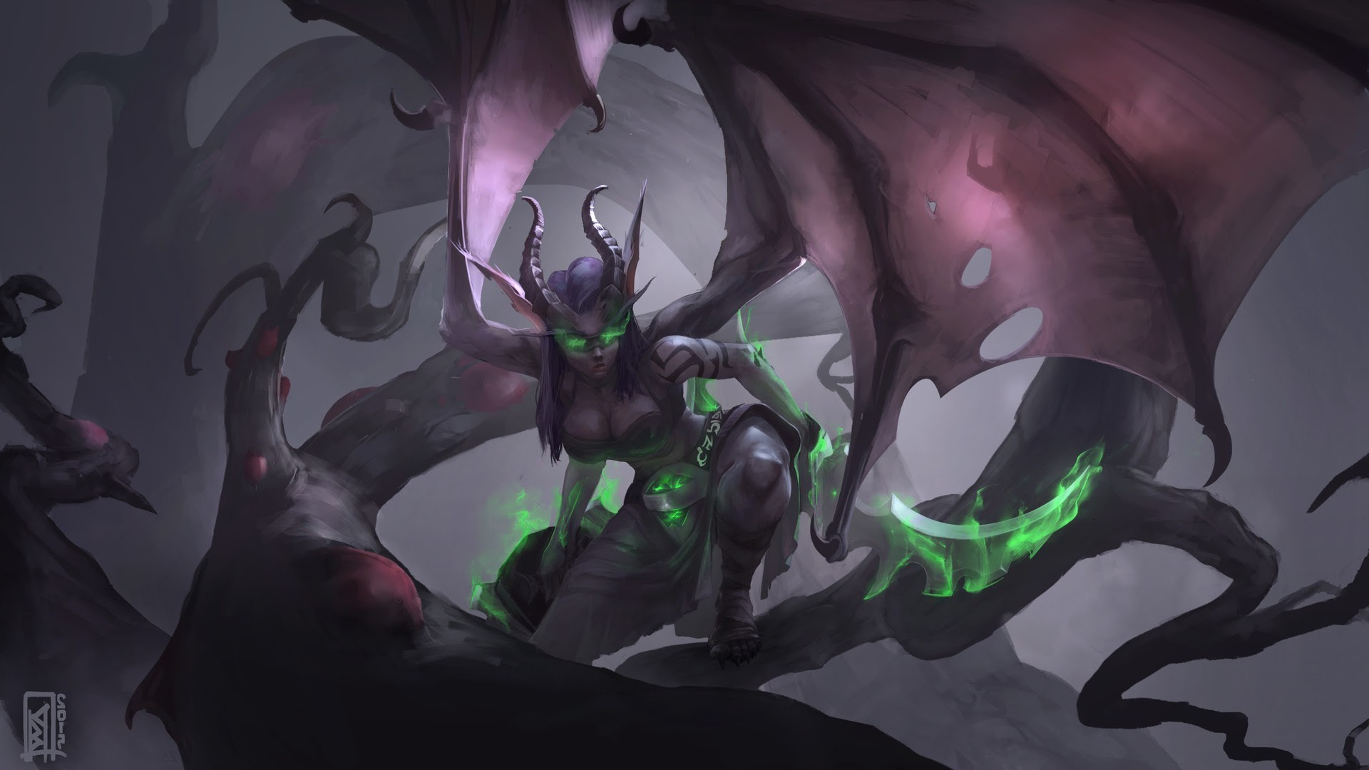 Demon Hunter Wow Wallpaper 84 Images