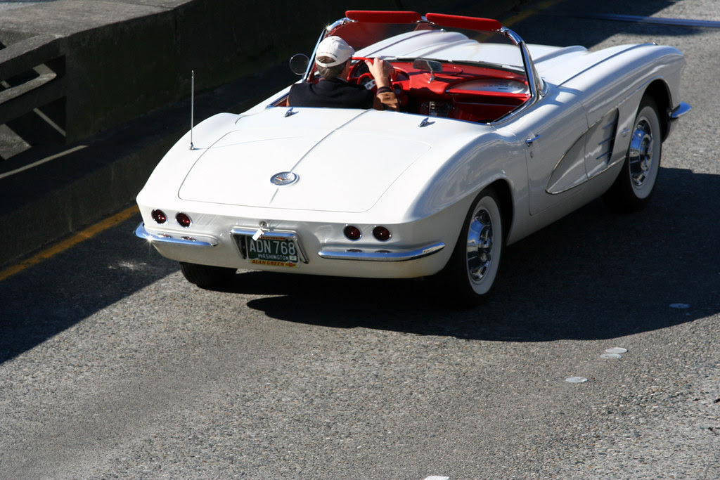 Top Down Day & Keys in the Trunk Lock
