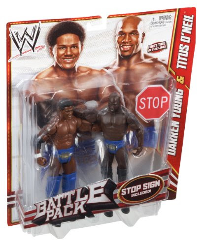 Wwe Series 21 Battle Pack Darren Young - WWE Action Figures