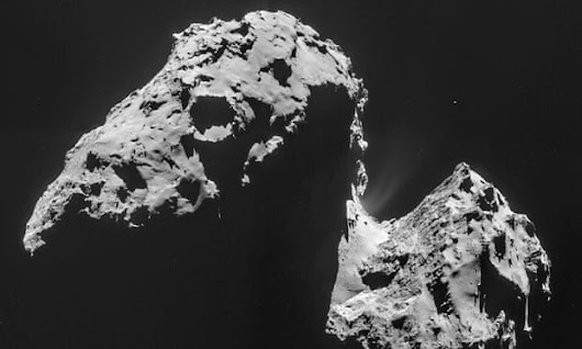 Rosetta discovers water?