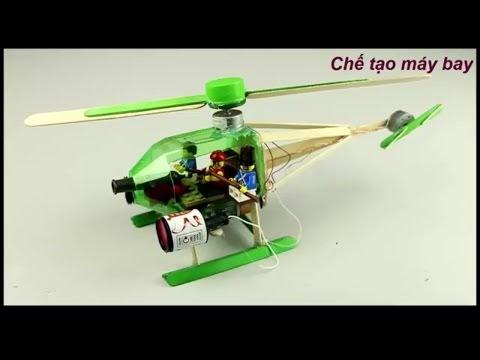 Cách chế tạo máy bay trực thăng đơn giản