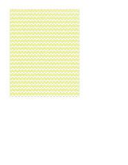 portrait A2 card size JPG Chartreuse chevron SMALL SCALE