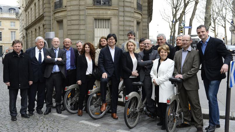 Les écologistes pro-Hollande lors d'une réunion commune, en avril dernier.