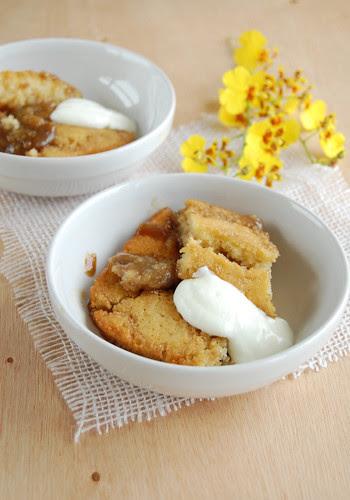 Banana butterscotch pudding / Sobremesa de banana e caramelo