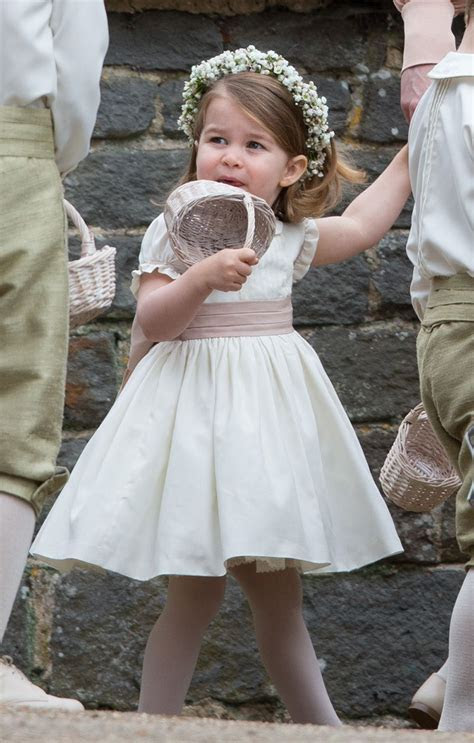 Princess Charlotte?s Dresses: See Pics Of Her Cutest