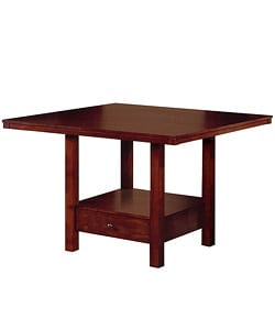 Aiden Dining Table with Drawer Base | Overstock.com Shopping