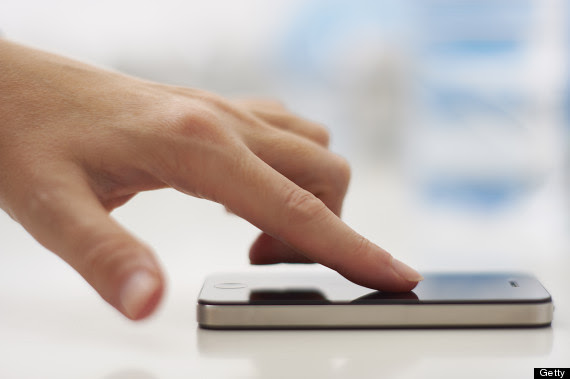 iphone finger